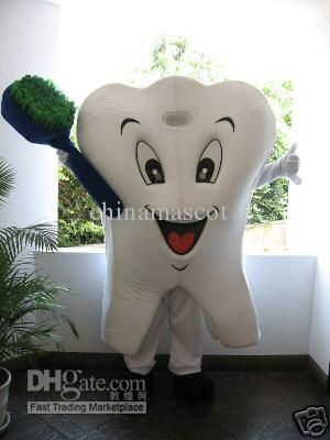 A classic tooth costume. #dentistry #teeth #dental costumes