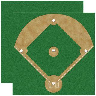 Landee See, Landee Do: DIY Baseball Diamond Bulletin Board