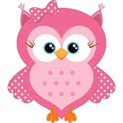 Girly Owl Cartoon   sweet_pink_cartoon_owl_jewelry_case.jpg?height=250&width=250 ...