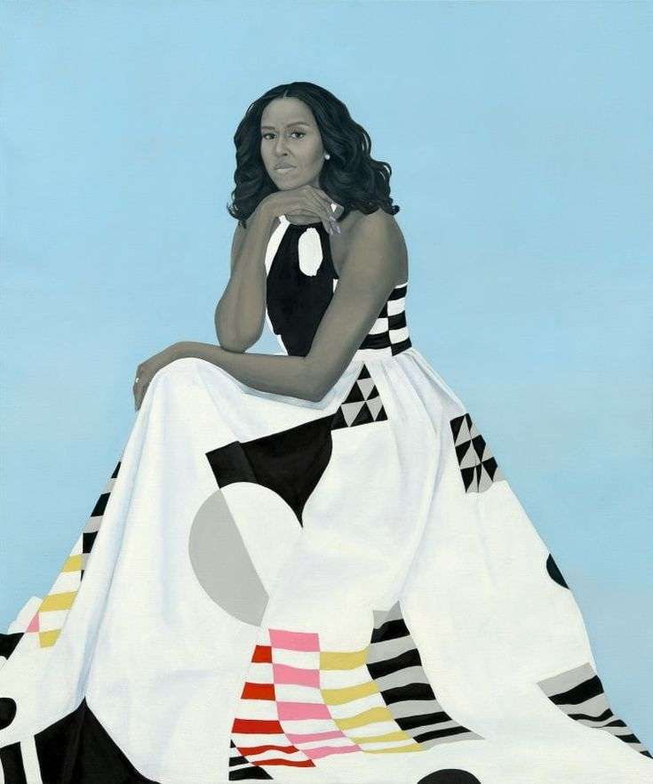 The Obamas' portraits are not what you'd expect and that's why they're great - The Washington Post