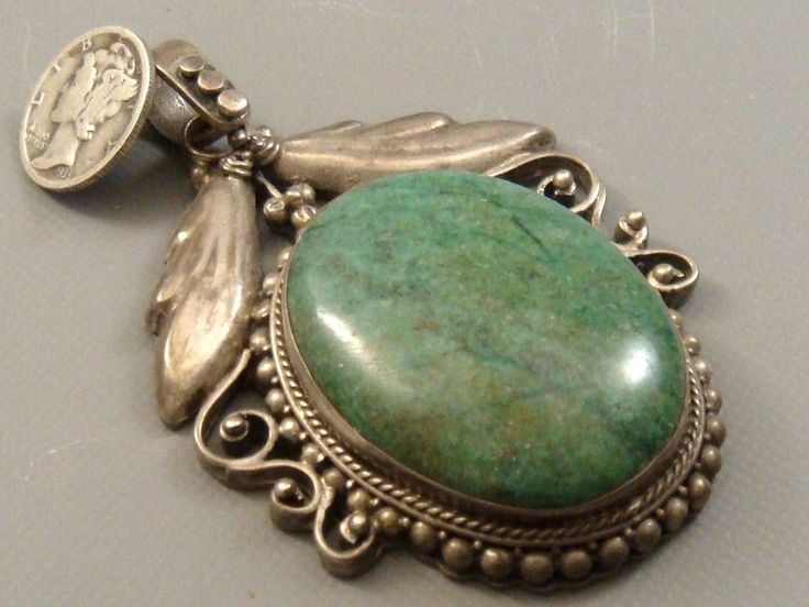 bronze products gorgeous pendant necklace and copper green medallion turquoise