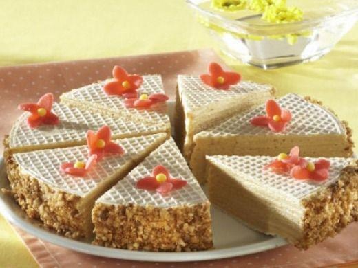 Karamelový oplatkový koláč - Recepty na každý den