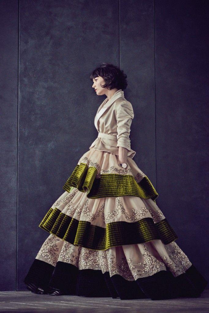 Fashion Week Paris 2015 - Alexis Mabille Couture Fall Winter 2015 2016 - Olivia Merilhati, The Do & Big Dress