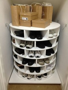 Schuhregal selber bauen für jede Ecke nützlich sein ähnliche tolle Projekte und Ideen wie im Bild vorgestellt findest du auch in unserem Magazi
