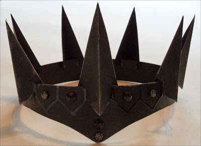 DIY Evil Queen crown
