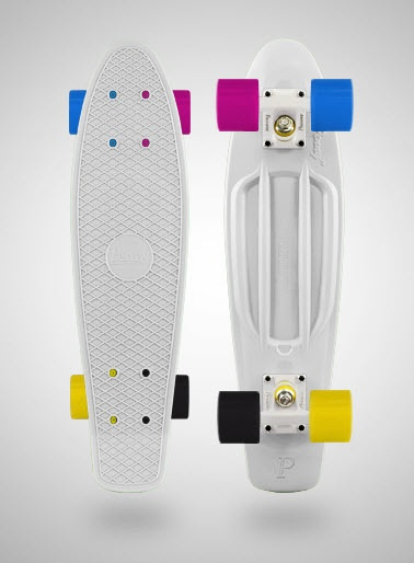 penny board- funky colours