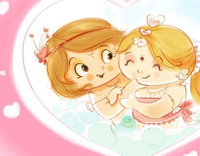 """Kaamdev And Rati"""" http://be.net/gallery/46781447/Loves-journey-Kaamdev-And-Rati"""