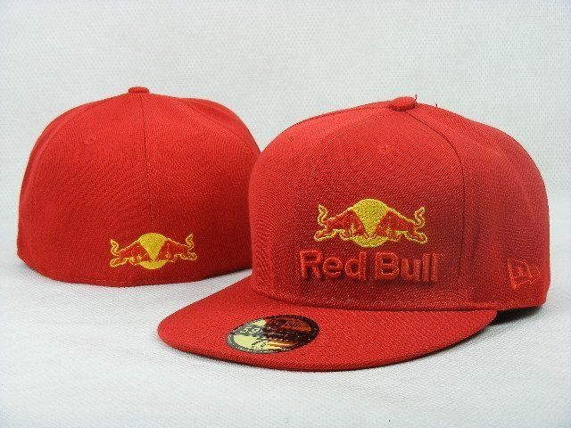 Red Bull Fitted Hats 007