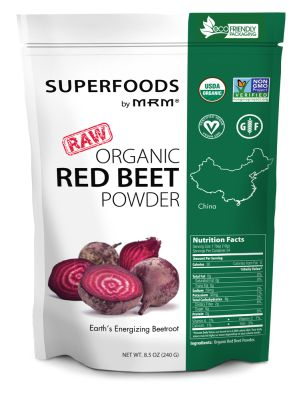Superfoods - Organic Red Beet Powder 240g di MRM - Aelastore.com