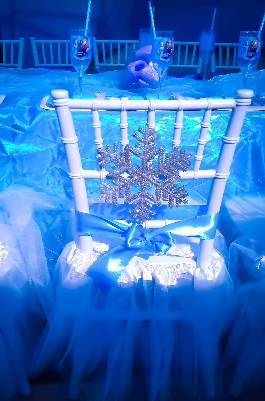 Frozen birthday party wimbledon chairs