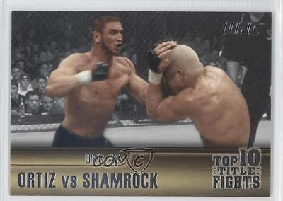 2011 Topps UFC Title Shot Top 10 Fights TT-22 Tito Ortiz vs Ken Shamrock MMA 4f0