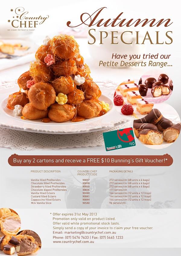 Country Chef / Autumn Specials | Flyer Design