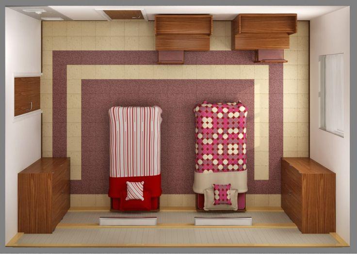 Digitaal woning inrichten -  Een perfecte manier om je slaapkamer opnieuw in te richten maar niet teveel tijd bezig ...