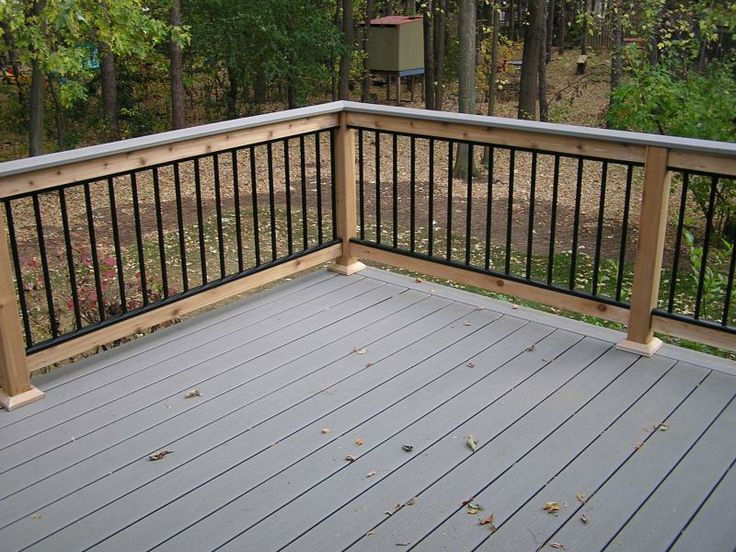 An Interesting Deck In Woodbury Mn Built With A Variety