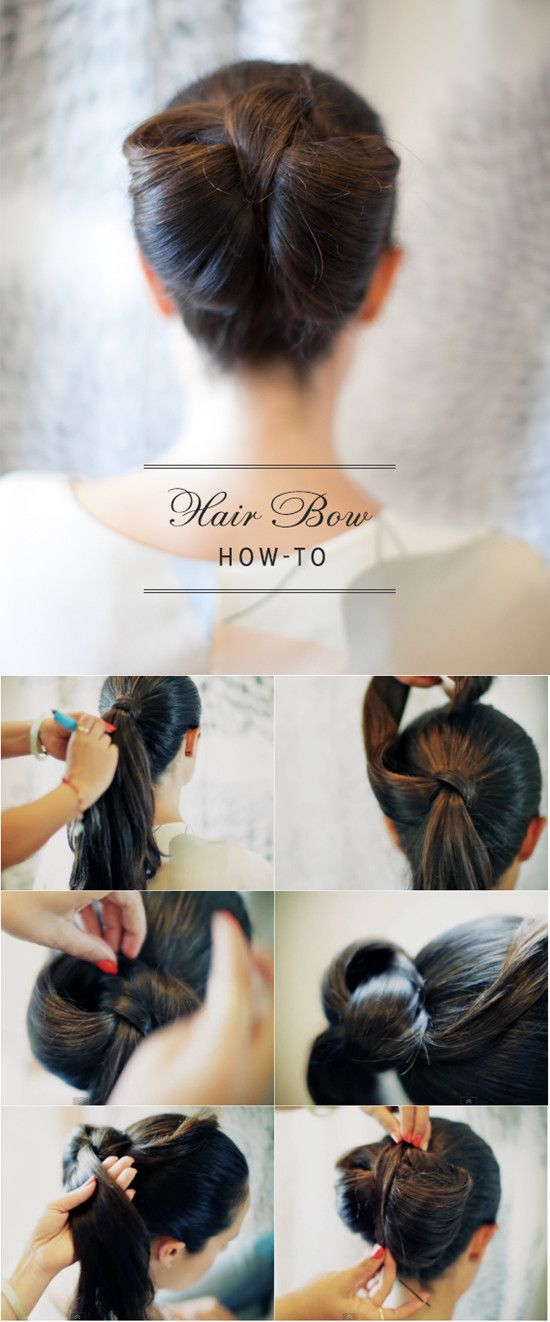Phenomenal 1000 Images About Hair Bow On Pinterest Hairstyle Inspiration Daily Dogsangcom