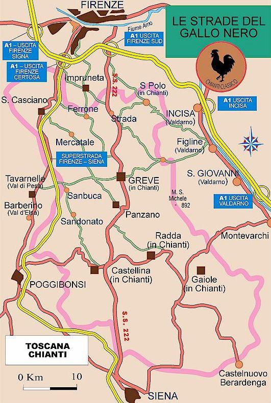 Mitt kjærlighetsforhold til Toscana startet på den berømte veien SR 222, også kaldt Chiantigiana. Kanskje ikke så rart at jeg ble betatt, e...