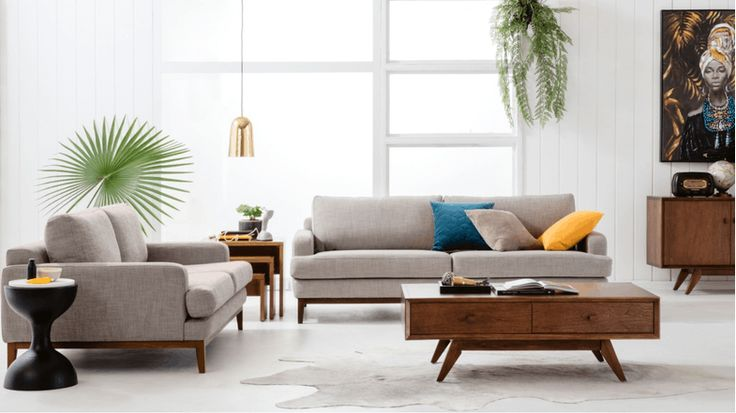 Ivy Fabric Sofa | Domayne