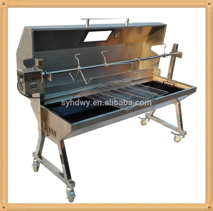 Source Wholesale 1 5 M Large Stainless Steel Pig Lamb Spit Roaster With Lid Bbq Grill On M Alibaba Com Spit Roaster Pig Roaster Lamb Spit