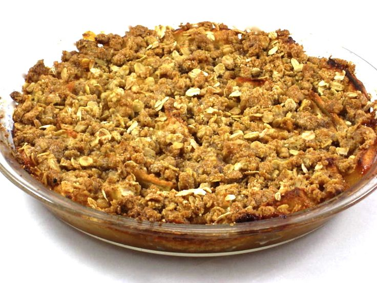 Caramel Apple Crisp with Weight Watchers Points | Skinny Kitchen