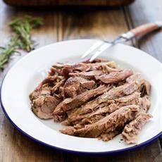 Roast Lamb With Anchovy And Rosemary
