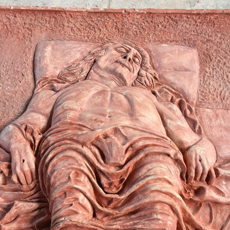 Omaggio al Mantegna - opera prima-  cm 100x100