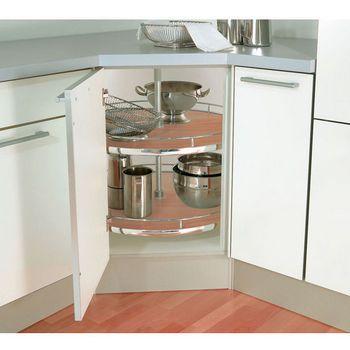Corner cabinet option! Lazy Susans - Lazy-Susan Corner ...