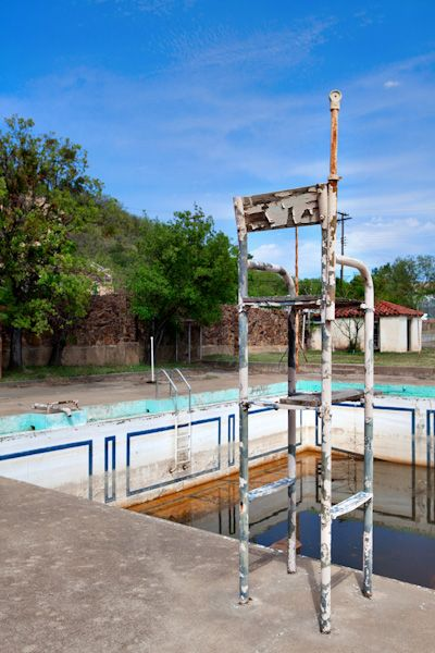 Baker Hotel, Mineral Wells, Texas Swimming pool