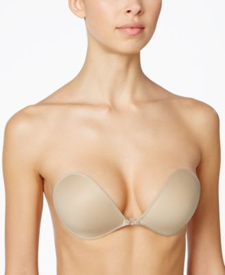 The NuBra Ultralite bra by Fashion Forms is a light weight backless and strapless lingerie solution. It's patented center clasp will also enhance cleavage perfectly for plunging necklines. | Polyester