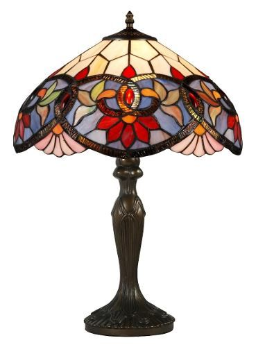 Lámpara De Mesa Tiffany Breena - $ 1.600,00