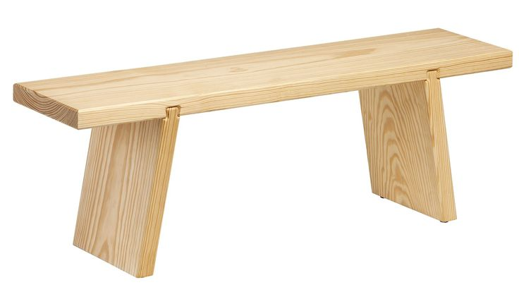 Bench Wood - Functionals by Ad & Simon