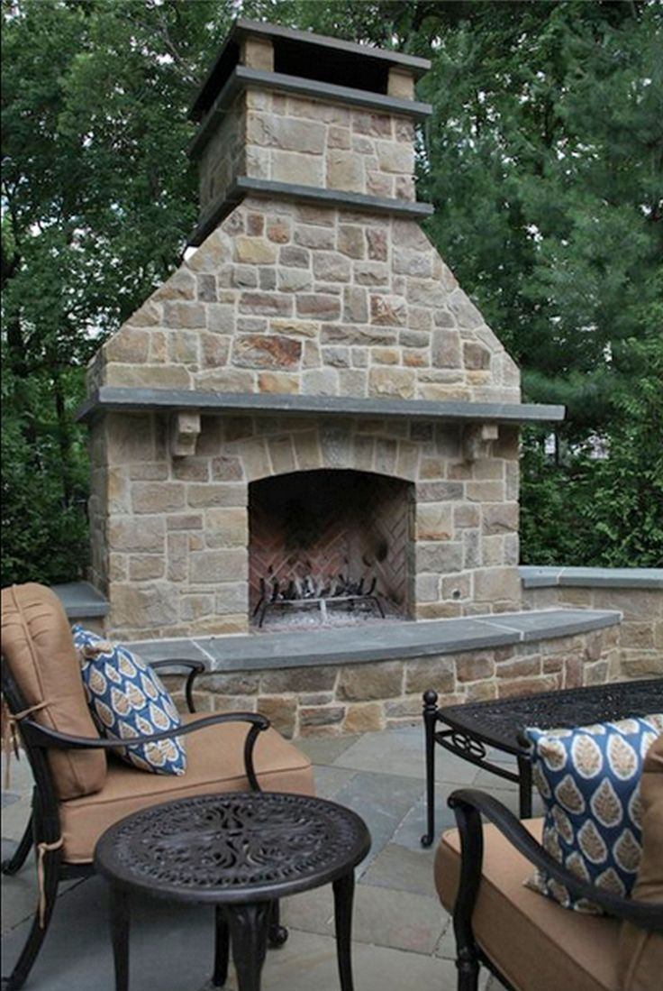 best 25 craftsman outdoor fireplaces ideas on pinterest