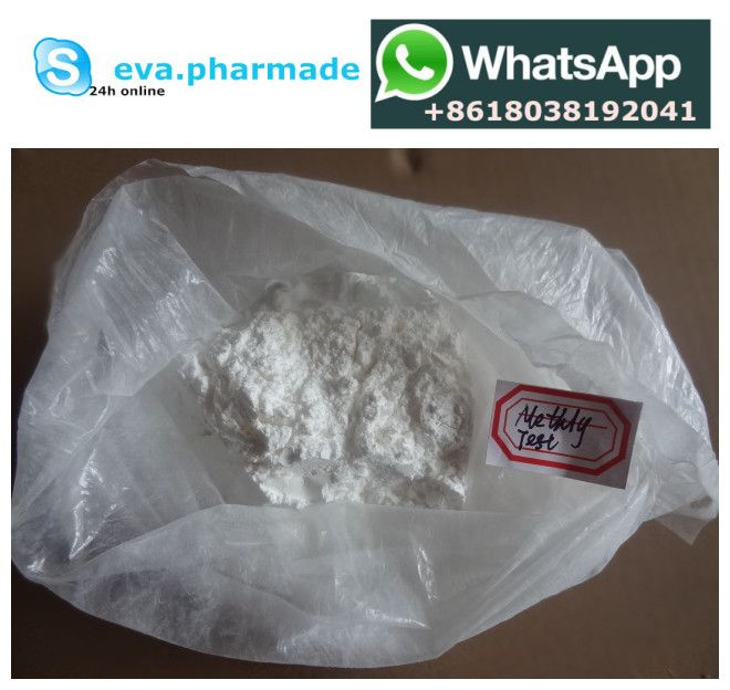 17-Methyltestosterone     Synonyms: Metandren    CAS: 58-18-4     Assay: 99% min.    Packing: foil bag or tin.    Delivery: Express courier.    Character: White crystalline powder, odorless, tasteless, hygroscopic, light case of deterioration. ethanol solution at 240nm wavelength of maximum absorption. Soluble in chloroform and dioxane, soluble in ethanol (1:5), acetone (1:10), methanol, slightly soluble in ether, insoluble in water, vegetable oil. Mp 161-166℃, refractive index +69-+75°.