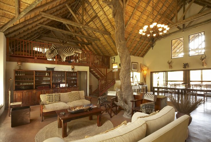 Main House. A maximum of 12 guests ensures exclusivity