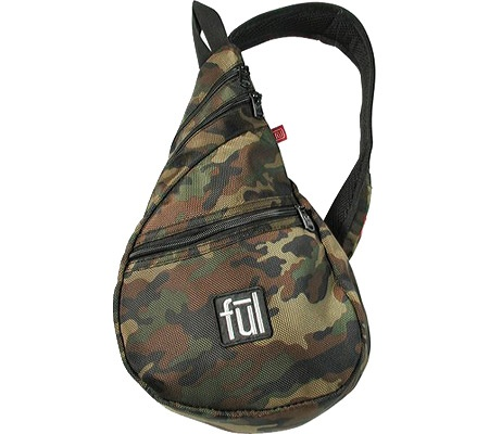 Ful Peabody - Camo - Free Shipping & Return Shipping - Bagsbuy.com. The uppermost zipper fits my Glock 27.