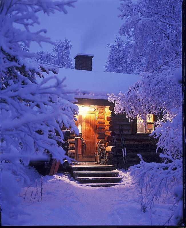 #retreat La nuit a Finlande http://www.leguidevert.michelin.fr/2012/04/au-royaume-du-silence-souvenirs-dune.html
