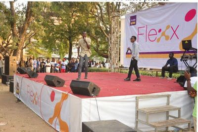 Photos: Fun and Buzz as FCMB opens Flexx Hub in Zaria   On Friday November 25 2016 students of Ahmadu Bello University (ABU) were super- delighted as First City Monument Bank (FCMB) stormed the prestigious university for the grand opening of the Flexxhub.