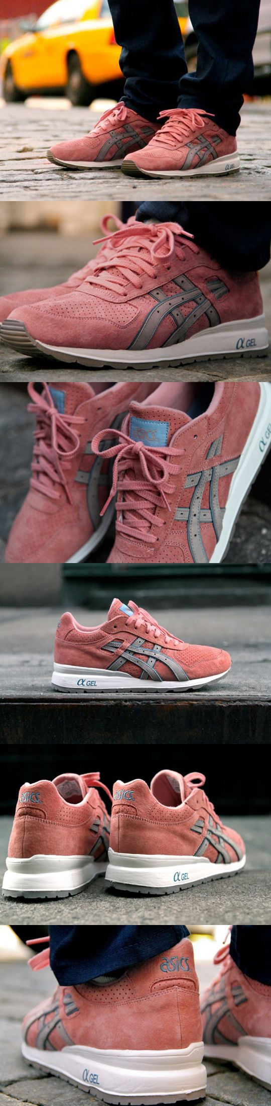 """Asics GT-II """"Rose Gold"""" x Ronnie Fieg I want these!"""