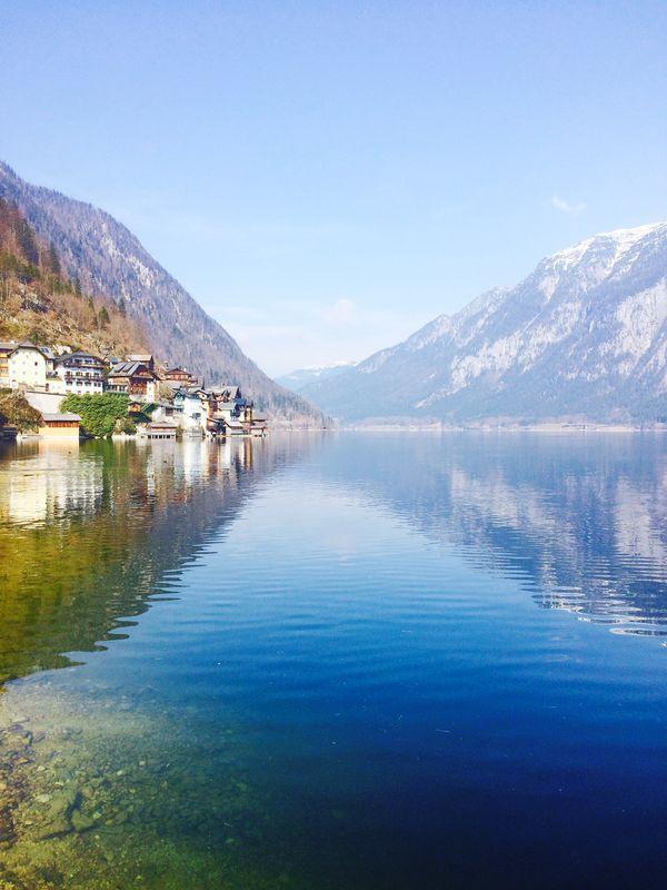 I am in love with Hallstatt, Austria. #Alps #Mountains