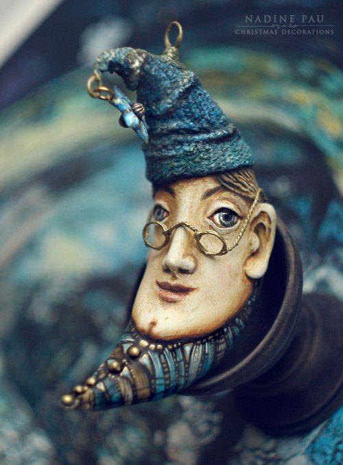 Фотографии Nadine Pau - masks, dolls and ornaments. | 18 альбомов