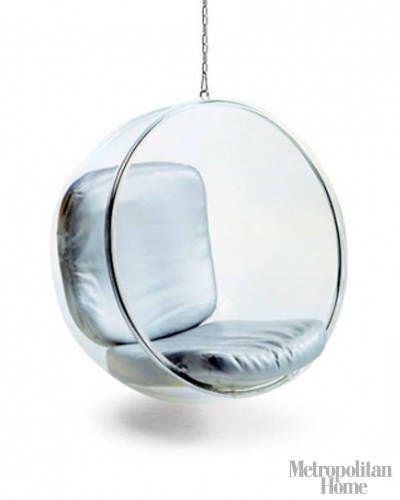 The Bubble Chair by Eero Arnio