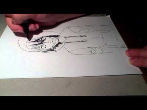 Speed drawing jeff the killer