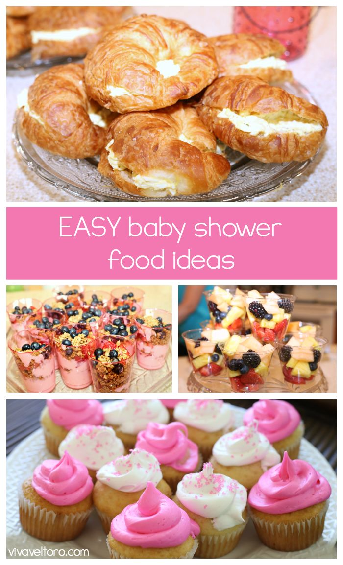 Easy Baby Shower Food Ideas Simple Baby Shower Baby