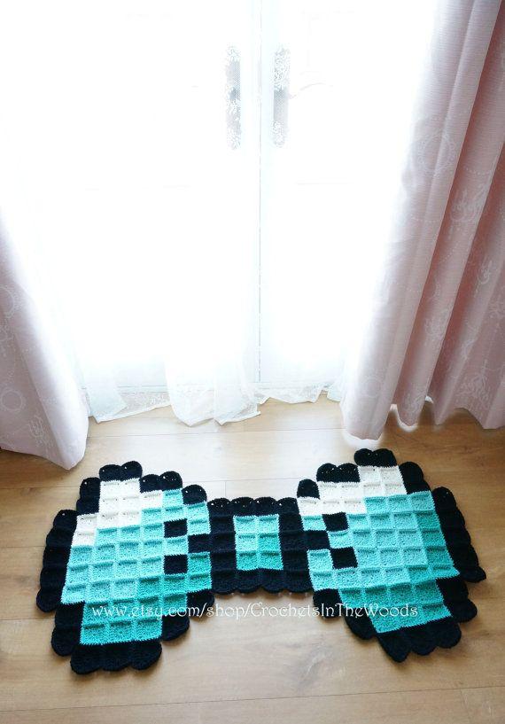Shabby Chic Giant Crochet Amigurumi Bow Tie by CrochetsInTheWoods