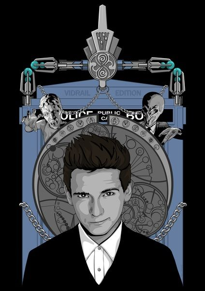 Vidrail's new shirt. Love this design. Look like 10, dress like 12, screwdriver like 11. Tardis, The Doctor, Doctor Who, Vidrail, Silence, Wheeping Angel, Ten, Eleven, Twelwe, David Tennant, Matt Smith, Peter Capaldi