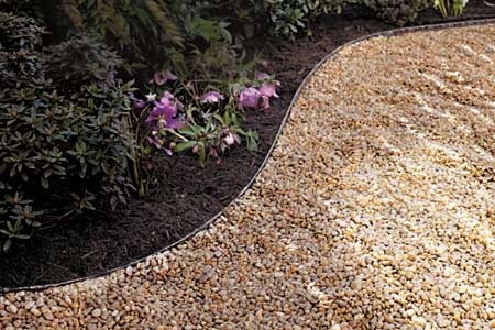 GRAVEL PAVING [USD 320].  A special paving for the seating clusters