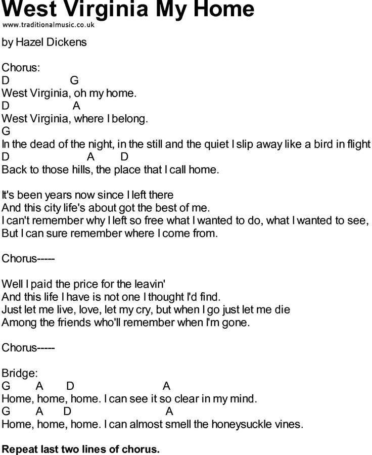 West Virginia State Song