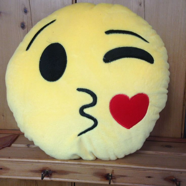 Blowing Kiss Emoji Cushion - yourgifthouse