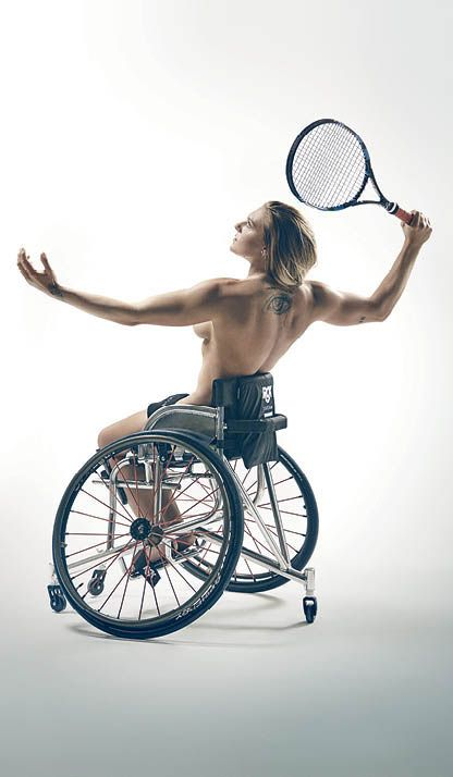 Ⓜ Tenis Paralympic.- (Jordanne Whiley).>>> See it. Believe it. Do it. Watch thousands of spinal cord injury videos at SPINALpedia.com