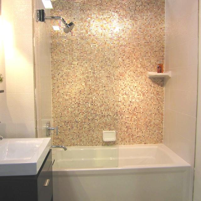 Ceramic & Glass Tile Bathroom