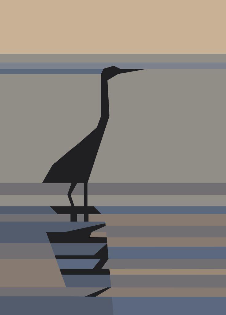 PR-Heron, Paper Pieced - free pattern